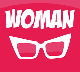 women's sunglasses with pink glasses