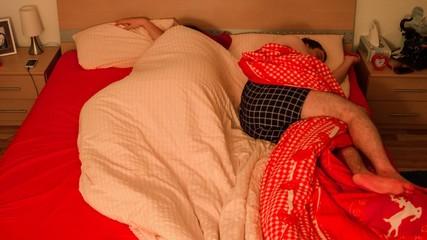 Zeitraffer schlafen