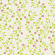 vector seamless  Floral pattern- Illustration