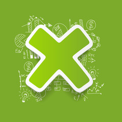 Drawing business formulas: cross