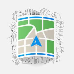 Drawing business formulas: navigator