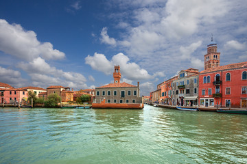 Murano island. Venice. Italy.