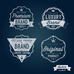 Collection of Premium Quality and Brand Labels