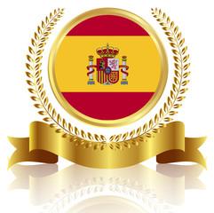 スペイン 国旗 フレーム