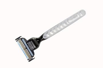 Black shaver razor