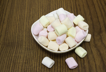 colorful marshmallows