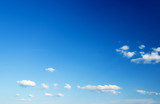 Fototapety blue sky background with tiny clouds