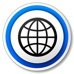 Vector earth icon