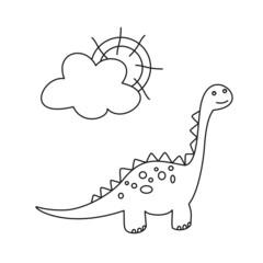 Dinosaurio I LINEAS