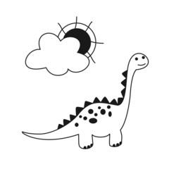 Dinosaurio BN