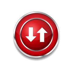 Data Circular Vector Red Web Icon Button