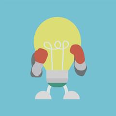 lightbulb boxer