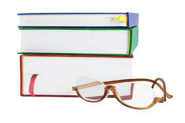 Reading Glasses And Text Books
