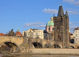 Old Town Bridge Tower in Prague