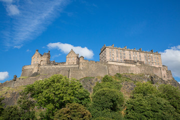 Edinburgh Castle on Castle Rock