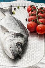 Mediterranean fish delicacy Dorado