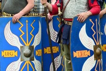 Blue Roman shields