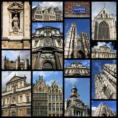 Antwerp - image collage