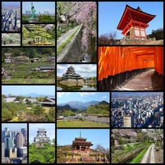 Japan - image collage