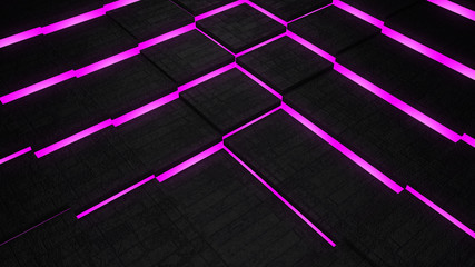purple luminance floor