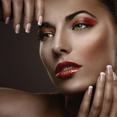 Makeup and Manicure