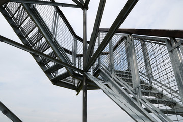 design of metal staircase