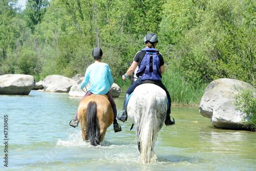 Papiers peints Equestre randonnée équestre
