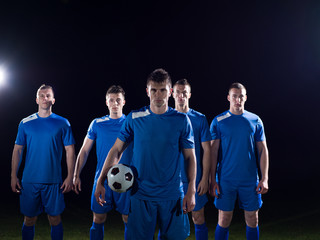 soccer players team
