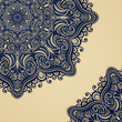 Vector Colored Ornate Backgrounds. Hand Drawn Texture with Beaut