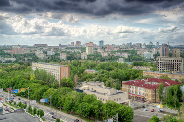 city of Donetsk, Ukraine