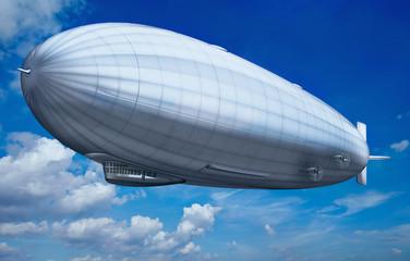 Luftschiff, Zeppelin am Himmel