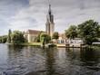canvas print picture - Residenz Heilig Geist Park