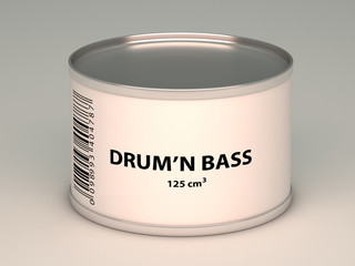 bank with drum'n bass title