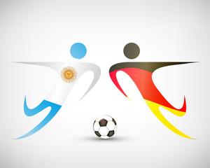 Fußball - Deutschland gegen Argentinien