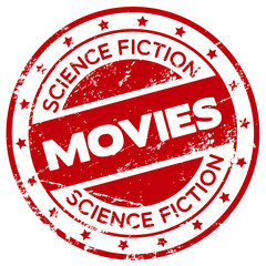 science fiction movies stamp