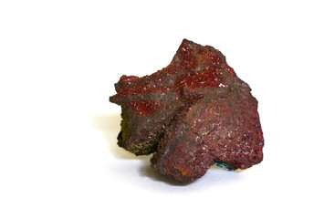 Cuprite (copper oxide) from Arezzo, Italy. 2.9cm across.
