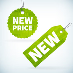 new price labels