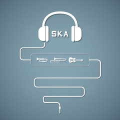headphone ska