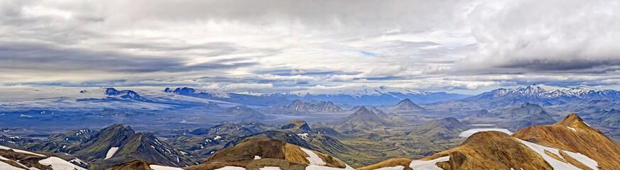 Iceland Landmannalaugar - Posmork trekking