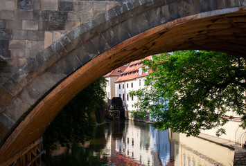 Watermill, Prague, Charles Bridge