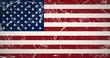 grunge flag USA
