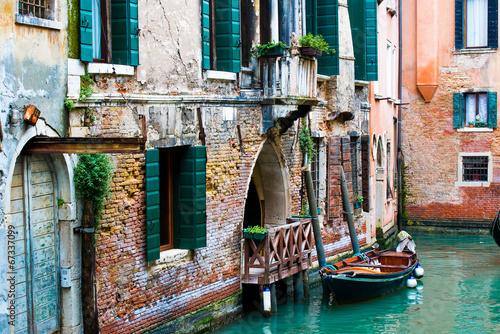 Foto op Canvas Venice Venetian canals
