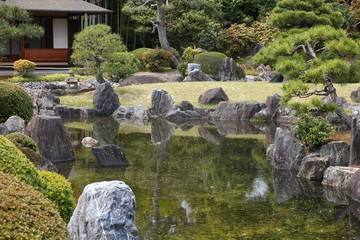 Kyoto, Japan - Nijo Castle gardens