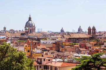 Dachlandschaft von Rom