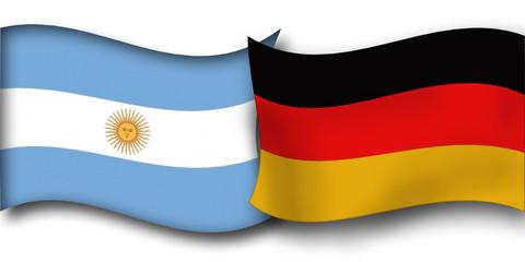 Flagge Fahne Deutschland Argentinien