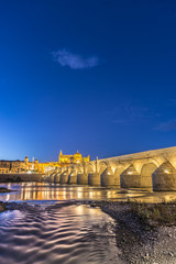 Guadalquivir river in Cordoba, Andalusia, Spain.
