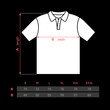 T-shirt polo men