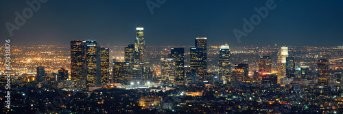 Los Angeles at night - 67338876