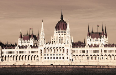 Building of Parliament, Budapest, Hungary