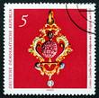 Postage stamp GDR 1971 Cherry Stone